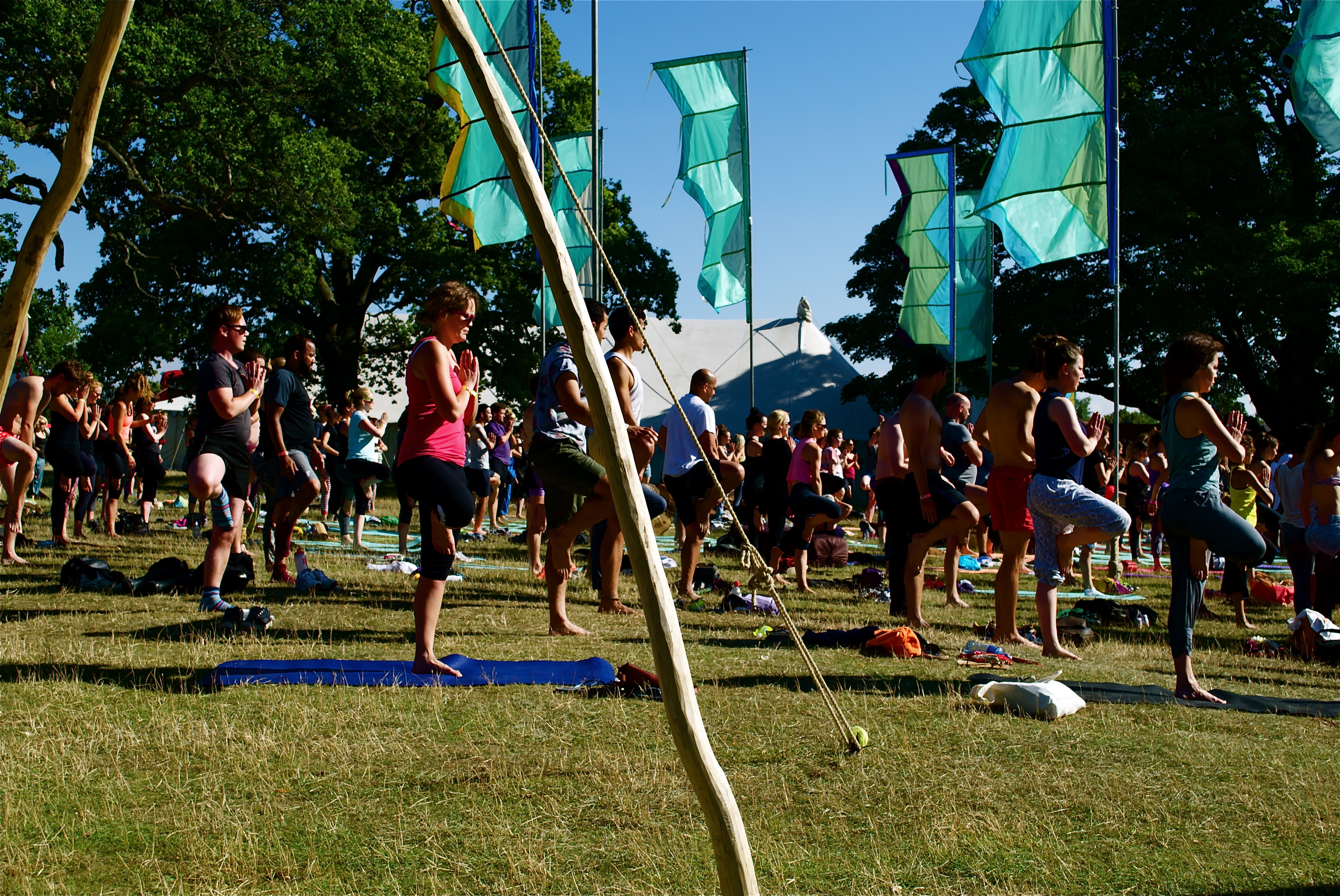 Pukka Herbs and Meditation at the Wilderness Festival
